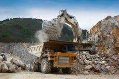 Stone quarry stock photos