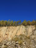 Stone quarry Stock Photo