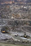 Stone quarry Royalty Free Stock Photo