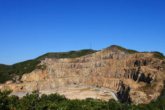 Stone Quarry Royalty Free Stock Photo