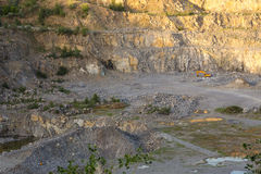 Stone quarry Stock Photography