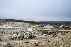 Free Stone Quarry In The Crimea Royalty Free Stock Images - 118443529