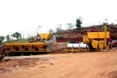 Stone Quarry Machines Stock Photo