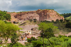 Stone Quarry Plant Stock Images