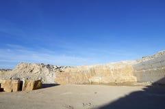 Stone quarry Stock Image
