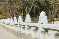 Stone Railing Stock Photography
