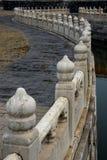 Stone railing Royalty Free Stock Image