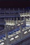 Stone railings. The forbidden city, china Stock Photo