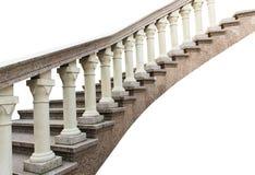 Stone railings, isolated Royalty Free Stock Photos