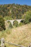 Stone railway bridge