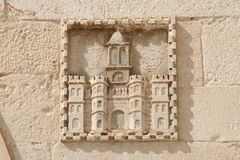 Stone relief Royalty Free Stock Image