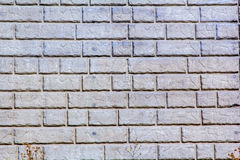 Stone retaining wall Royalty Free Stock Image