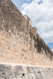 Stone Ring located 9 m above the floor of the Great Ball Court in Chichen Itza Royalty Free Stock Image