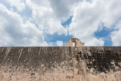 Stone Ring located 9 m above the floor of the Great Ball Court in Chichen Itza Royalty Free Stock Photography