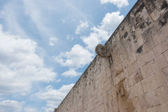 Stone Ring located 9 m above the floor of the Great Ball Court in Chichen Itza Royalty Free Stock Photos