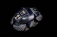Stone Ritual Egyptian Scarab Royalty Free Stock Photos