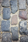 Stone road stock photos