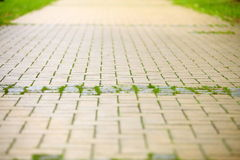Stone road, path as background Royalty Free Stock Photos