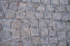 Stone road pattern stock image