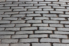 Stone road Royalty Free Stock Images