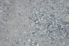 Stone road, rocky road, pebble road Stock Photos