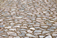 Stone road texture Stock Image