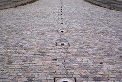 Stone road texture Stock Photo