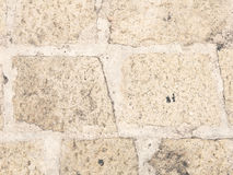 Stone road texture Royalty Free Stock Photography