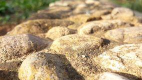 Stone road texture. Picture of stone road texture Royalty Free Stock Photo