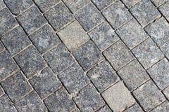 Stone roadway Royalty Free Stock Photography