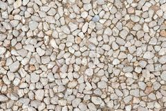 Stone rock crushed gravel texture, background Stock Photos