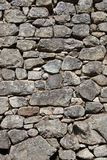 Stone Rock Wall. From Machu Picchu Stock Photos