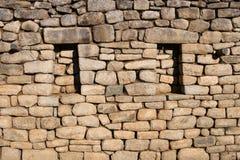 Stone Rock Wall. From Machu Picchu Royalty Free Stock Photos