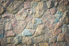 Stone rock wall texture background Royalty Free Stock Photos