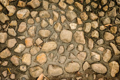 Stone rockwall background Stock Photo
