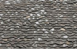 Stone roof Royalty Free Stock Photo