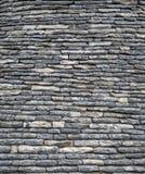 Stone roof in Alberobello Stock Photography