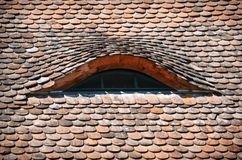 Stone Roof Stock Images