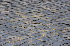 Stone roof texture Royalty Free Stock Images