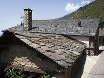 Stone Roof Tiles Royalty Free Stock Image