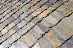 Stone roof Stock Photo