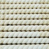 Stone rope. Abstract patterns found in edging stones for the garden Stock Photography