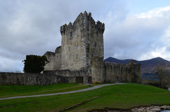 Stone Ross Castle Ruins in Killarney National Park Ireland Stock Photos