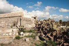 Stone ruins almeria Stock Images
