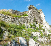 Stone old ruins of the Asen Fortress Stock Images