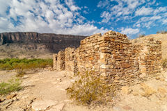 Stone Ruins Big Bend National Park royalty free stock images