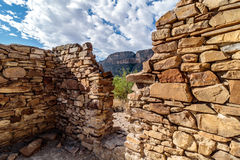 Stone Ruins Big Bend National Park Royalty Free Stock Image