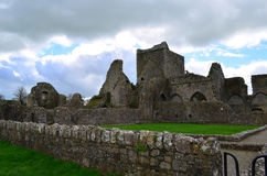 Stone Ruins of Hore Abbey Stock Photography