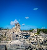 Stone ruins in Turks and Caicos. Stone ruins on the islands of Turks and Caicos Royalty Free Stock Photography