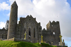 Stone Ruins of Rock of Cashel Royalty Free Stock Photography